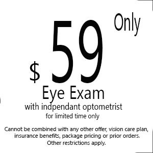 $59 Eye Exam in Fremont